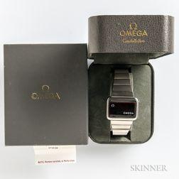 """Omega Constellation """"1602"""" Digital Watch"""