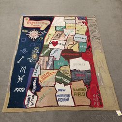 Berkshire County Hooked Rug