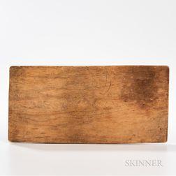 Chippewa Carved Wood Memory Board