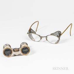 Pair of Spectacles and a Pair of Opera Glasses