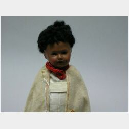 "Black ""Abyssinian Baby"" Doll"