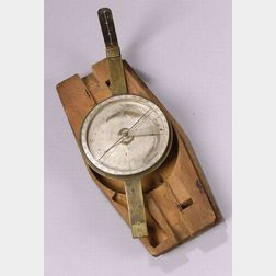 Brass Surveyor's Compass by Abner Dod