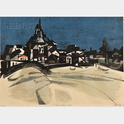 John T. Ross (American, b. 1921)      Provincetown Beach