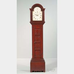 Eight-day Tall Clock Signed William Crane