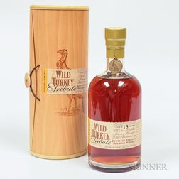 Wild Turkey Tribute 15 Years Old, 1 750ml bottle (owc)