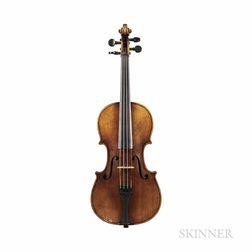 German Three-quarter Size Violin, Glaesel Workshop, Markneukirchen, c. 1880