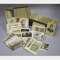Two Boxes of 19th and Early 20th Century European Architecture Postcards