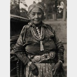 Southwest Photograph of a Navajo Woman by Laura Gilpin (1891-1979)