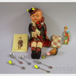 Ten Assorted Scottish Collectible Items