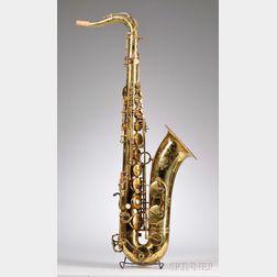 French Tenor Saxophone, Henri Selmer, Paris, 1972, Model Mark VI