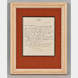 Lewis, Clive Staples (1898-1963) Autograph Letter Signed, 18 April 1950.