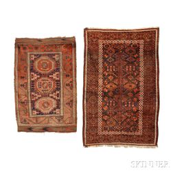 Baluch Main Carpet and Small Rug