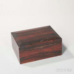 Grain-painted Box