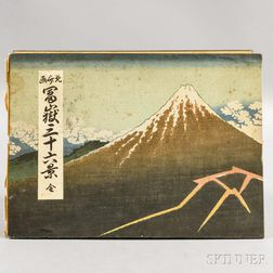 Katsushika Hokusai (1740-1849) Woodblock Print Album