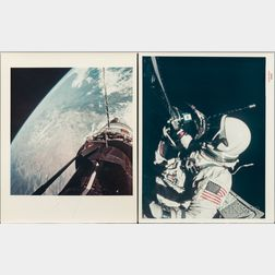 Taken by a Maurer 16mm Movie Camera Mounted to the Spacecraft; Buzz Aldrin (American, b. 1930)