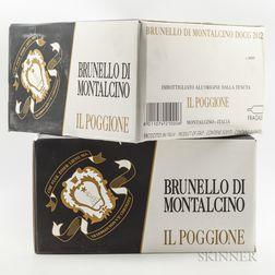 Poggione Brunello di Montalcino 2012, 12 bottles (2 x oc)