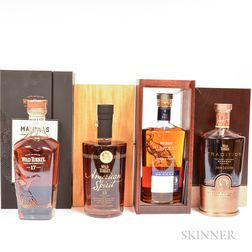 Mixed Wild Turkey Limited Edition, 4 750ml bottles