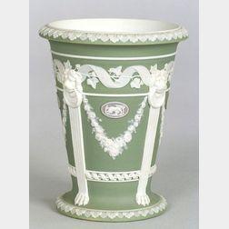 Wedgwood Three Color Jasper Dip Vase