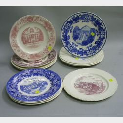 Twelve Wedgwood Collector's Plates