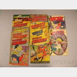 Twelve Assorted Golden Age Comics