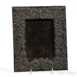 Marshall Cutler (b. 1855) Carved Mahogany Frame