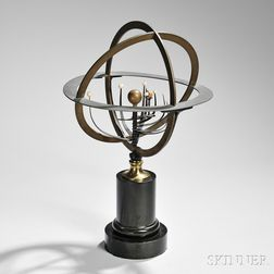 Brass 12-inch Planetarium
