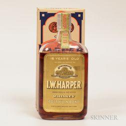 IW Harper 16 Years Old 1917, 1 pint bottle