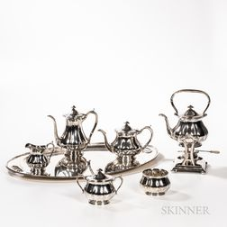 Arthur Stone Seven-piece Sterling Silver Tea and Coffee Service