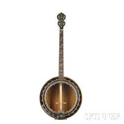 Large American Tenor Banjo, Paramount, New York, New York, Style A, c. 1920-35