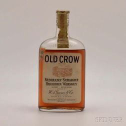 Old Crow 14 Years Old 1913, 1 pint bottle
