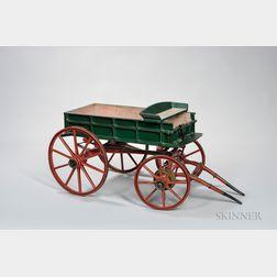 """Vans Safety"" Salesman's Model Wagon"