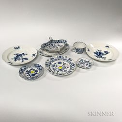 Group of Meissen Porcelain Tableware