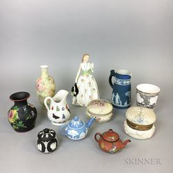 Small Group of Mostly Ceramic Decorative Items