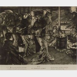James Jacques Joseph Tissot (French, 1836-1902)    Lot of Three Plates from THE PRODIGAL SON: The Departure