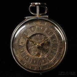 Lagisse & Bussat Silver Case Watch