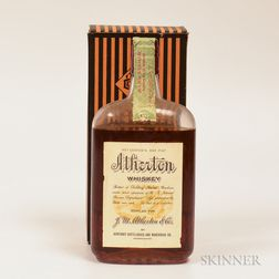 Atherton 12 Years Old 1917, 1 pint bottle (oc)