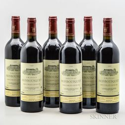 Chateau Monbousquet 1995, 6 bottles