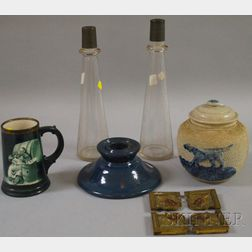 Nine Assorted Decorative Items