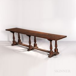Italian Walnut Refectory Table
