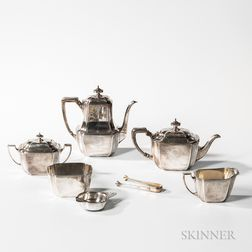 Five-piece Tiffany & Co. Sterling Silver Tea and Coffee Service