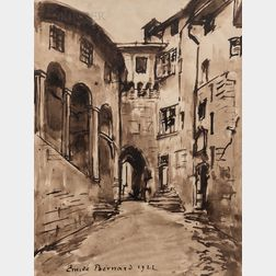 Émile Bernard (French, 1868-1941)      Old Roman Street