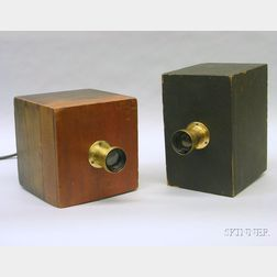 Two Disguised Squirt Cameras by DeMoulin & Bros.