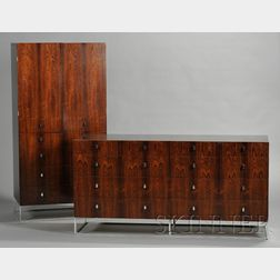 Rougier Rosewood Veneer Bedroom Suite