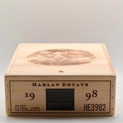 Harlan Estate 1998, 3 bottles (owc)