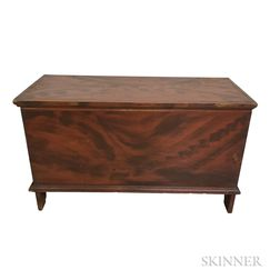 Grain-painted Pine Six-board Chest