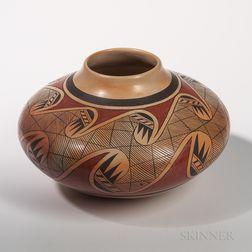 Hopi Polychrome Seed Jar