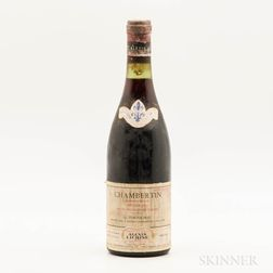 G. Tortochot Chambertin 1961, 1 bottle