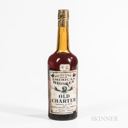 Old Charter Genuine Old American Whiskey, 1 1 pint 7 oz bottle Spirits cannot be shipped. Please see http://bit.ly/sk-spirits for mo...