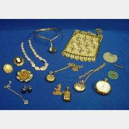 Group of Jewelry, Costume Jewelry, and Accessories