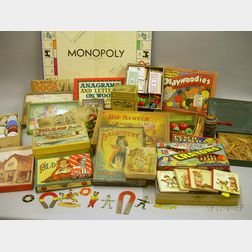 Large Lot of Assorted Table Games